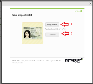 Verificar la identidad neteller